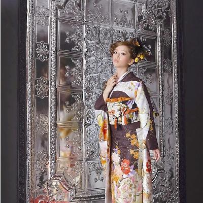 成人式はびわ(biwa)の最新振袖でプリンセスになる?滋賀県の成人式はびわ桜の振袖で決まり。